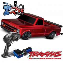 Traxxas Chevrolet Drag Slash 1/10 2Wd Brushless TSM Rojo