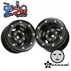 Llantas 2.2″ GT beadlock wheels GM70234 2 Unidades