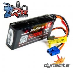 Batería LiPo de reacción 2.0 de 7.4V 5200mAh 2S 15C: Receptor universal