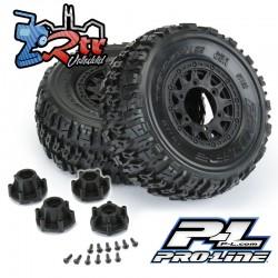 """Ruedas Trencher X SC 12mm 2.2 """"/3.0"""" Neumáticos todo terreno montados Proline PR1190-10"""