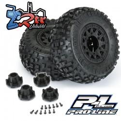 """Ruedas Badlands SC 12mm 2.2 """"/3.0"""" Neumáticos todo terreno montados Proline PR1182-10"""