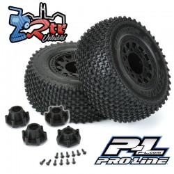"""Ruedas Gladiator SC 12mm 2.2 """"/3.0"""" Neumáticos todo terreno montados Proline PR1169-10"""