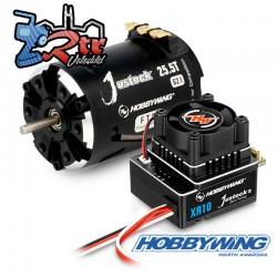 Combo Hobbywing Xerun Justock Combo G3, 25 Turn 1600kV Sensored