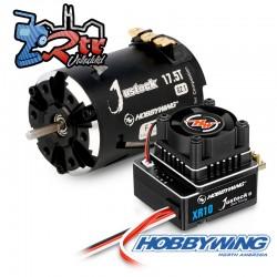 Combo Hobbywing Xerun Justock Combo G3, 17.5 Turn 2450kV Sensored
