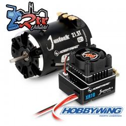 Combo Hobbywing Xerun Justock Combo G3, 21.5 Turn 2050kV  Sensored