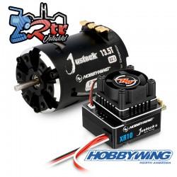 Combo Hobbywing Xerun Justock Combo G3, 13.5 Turn 3200kV...