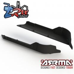 Protectores laterales del chasis derecho y izquierdo Arrma AR320189