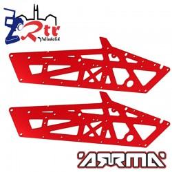 Chasis Arrma Fazon Nero AR320260 Color Rojo