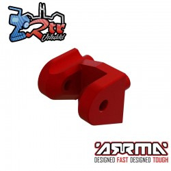Soporte delantero de aluminio CNC Arrma ARA320615