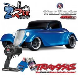 Traxxas 4-Tec 3.0 Hot Rod Coupe Azul Escala 1/10 4Wd Escobillas