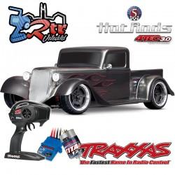 Traxxas 4-Tec 3.0 Hot Rod Camioneta Plata Escala 1/10 4Wd Escobillas