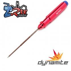 Destornillador hexagonal mecanizado, 1,5 mm Dynamite DYNT2031