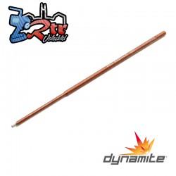 Punta de repuesto Destornillador hexagonal mecanizado .050 Dynamite DYNT2040