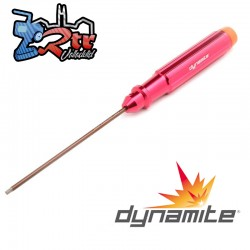 "Destornillador hexagonal mecanizado, 3/32"" Dynamite DYNT2024"