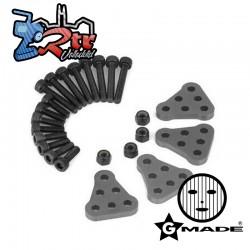 Montaje de Amortiguador para SCX10 /SCX10 2 Gmade J20023