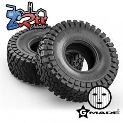 """Ruedas Gmade 2.2"""" MT 2202 con espumas GM70524"""