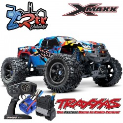 Traxxas X-Maxx 1/5 Monster Truck Brushless 8s Rock and Roll