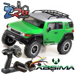 Absima Khamba 1/10 4x4 CR3.4 6 Canales Luces RTR Verde