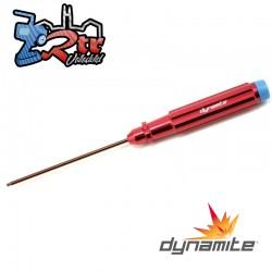 Destornillador de tuerca mecanizado con extremo esférico 2,5mm Dynamite DYNT2071