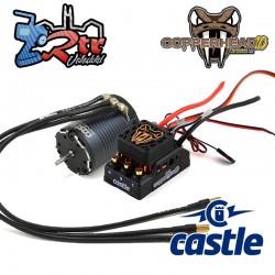 Castle Copperhead Waterproft 1406-2280KV Sensores Combo