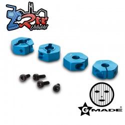 Buje de rueda de aluminio de 12 mm tipo abrazadera 5 mm de espesor Gmade GM70203