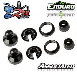 Partes de amortiguador, aluminio negro Enduro Element EL42079