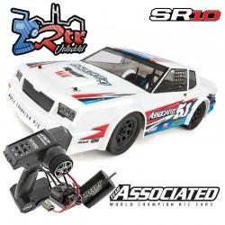 Drag Race Car SR10 Dirt Oval Team Asociated 2WD 1/10 Kit