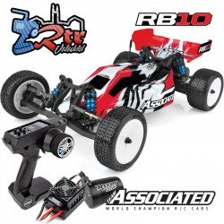 Buggy RB10 Brushless Team Asociated 2WD 1/10 RTR Rojo