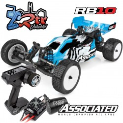 Buggy RB10 Brushless Team Asociated 2WD 1/10 RTR Azul