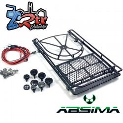 Bandeja metálica para equipaje y neumático con LED 2320123