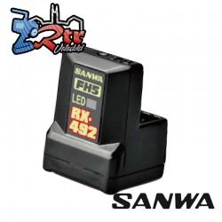 Receptor RX-492 FHSS5U/FHSS5 SXR Response Waterproft 2,4 GHz Sanwa