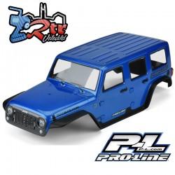 Proline Jeep Wrangler Unlimited Rubicon 313 mm Cuerpo Pintado y recortado Azul PR3502-13