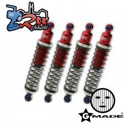 Amortiguadores Gmade ZERO Rojo 104mm GM20201