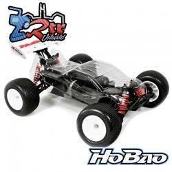 Hobao Hyper TT10 Truggy Kit Emsamblado Kit Carrocería Transparente1/10 4x4