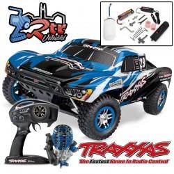 Traxxas Nitro Slayer Pro 3.3 TQi TSM RTR 1/10 4wd Azul