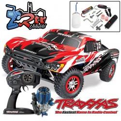 Traxxas Nitro Slayer Pro 3.3 TQi TSM RTR 1/10 4wd Rojos