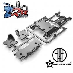 Árbol de piezas de la placa protectora y la bandeja de la batería GS02F Gmade GM60219