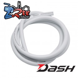 Cable Dash de Silicon 12AWG/2.05mm Blanco 1 Metro