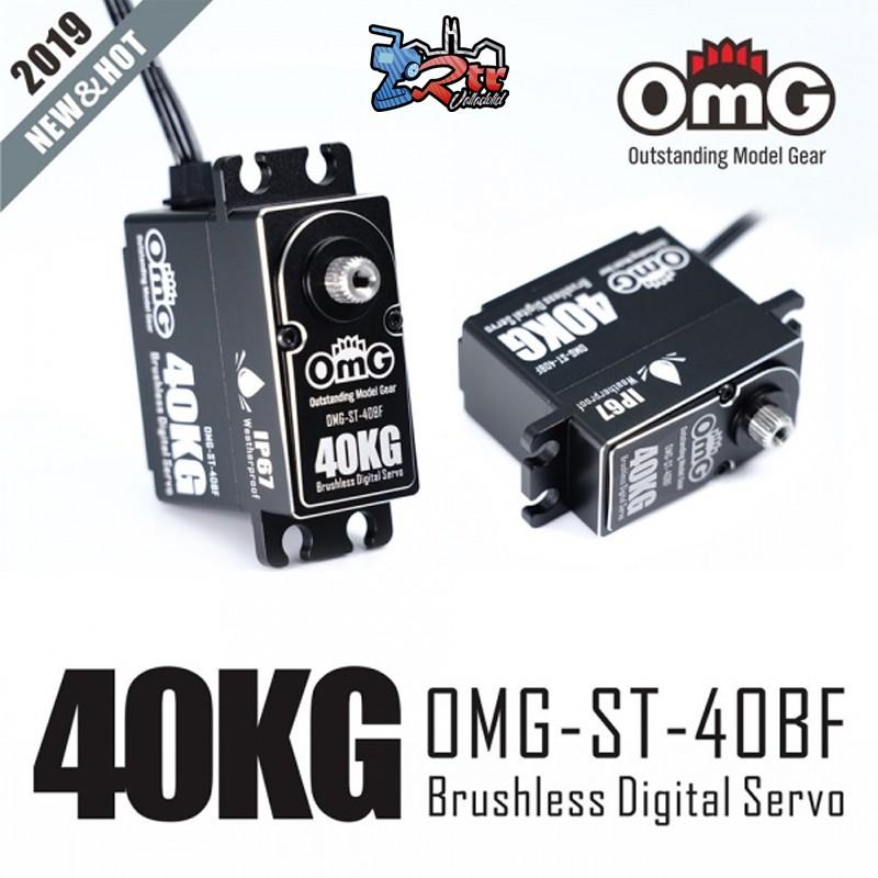 Servo OMG-A4-40BF 40Kg Brushless Waterproft 8.4V