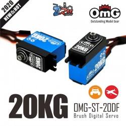 Servo OMG-ST-20DF 20Kg 0.11Seg HV Digital Waterproft 8.4V