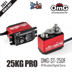 Servo OMG-ST-25DF 30Kg 0.11 Seg HV Digital Waterproft 8.4V