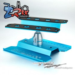 Mesa de Reparación rotatoria 1/10 TFL Azul