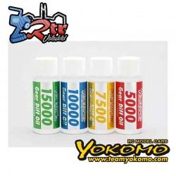 Yokomo Super Mezcla de aceite de diferencial de engranajes 7500 Cps