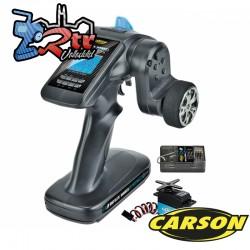 Emisora Carson FS 3K ReflexWheel Pro3 LCD 2.4G + CS6 Servo