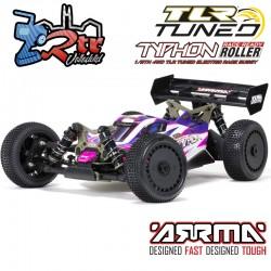 Arrma Typhon 1/8  Buggy TLR Tuned Kit Electrico 4wd Rosa y Morado