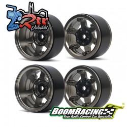 Llantas TE37XD KRAIT™ 1.9 SV5 Deep Dish Aluminum Beadlock Wheels XT601 2 Unidades Gris Metal