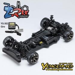 Yokomo YD-2Z RWD Drift Kit Chasis Plastico 2wd 1/10 + YG-302 Gyro