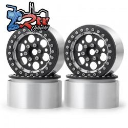 Llantas 2.2 aluminio Crawler beadlock 129gr cada una (4 Unidades)