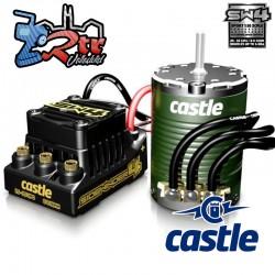 Combo Castle Sidewinder SW4 12.6V 2A BEC WP Sensorless ESC/1415-2400 motor con sensores