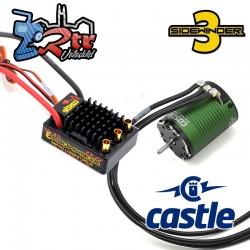 Combo Castle Sidewinder SV-3 12V 2A BEC WP ESC/1406-7700 motor